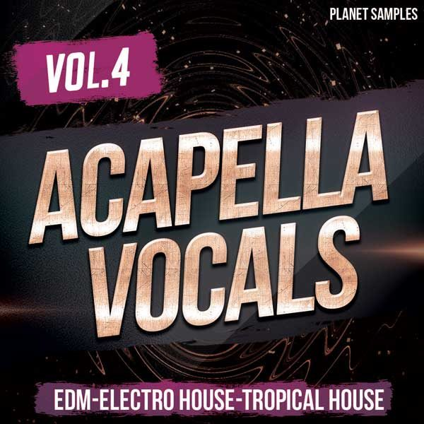 Acapella Vocals Vol.4
