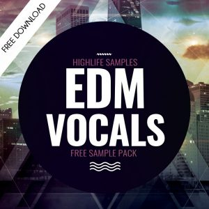 EDM Vocals FREE VOCAL SAMPLE PACK